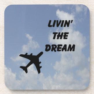 飛行機の航空コースター コースター