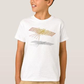 飛行機の骨組 Tシャツ