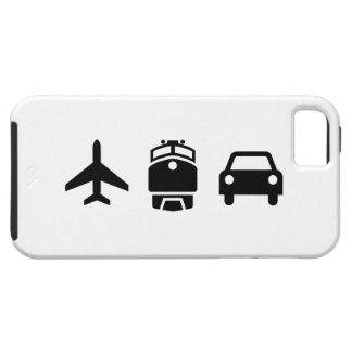 飛行機または列車または自動車ピクトグラムのiPhone 5の場合 iPhone SE/5/5s ケース