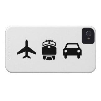 飛行機または列車または自動車ピクトグラムiPhone4の箱 Case-Mate iPhone 4 ケース