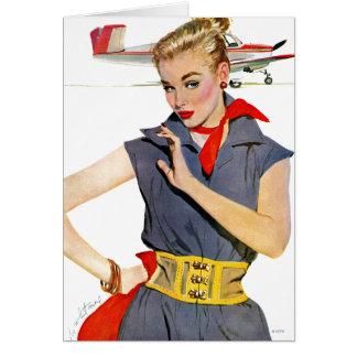 飛行機を盗んだ女の子 カード