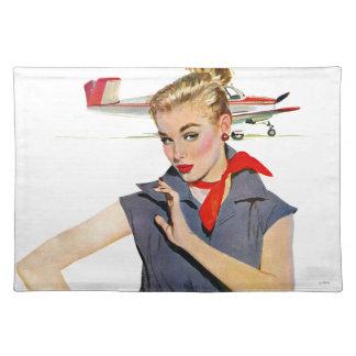 飛行機を盗んだ女の子 ランチョンマット