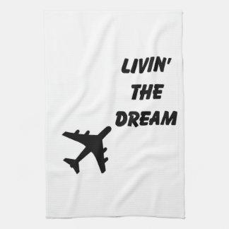 飛行機タオル キッチンタオル