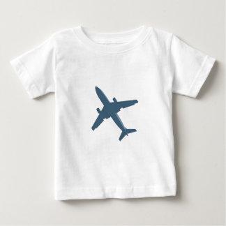 飛行機 ベビーTシャツ