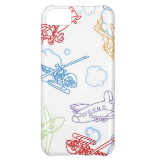 飛行機|壁 iPhone5C カバー