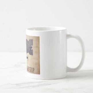 飛行船での旅行 コーヒーマグカップ