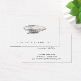 飛行船(凸版印刷のスタイル) 名刺