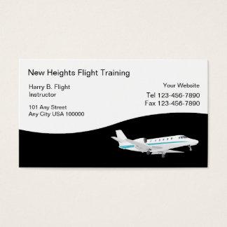飛行訓練の名刺 名刺