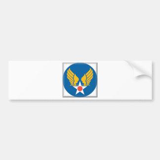 飛行隊の盾 バンパーステッカー