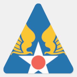飛行隊の盾 三角形シール
