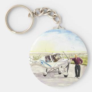 「飛行」Keychainの後で キーホルダー