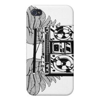 飛行Boombox iPhone 4/4S Cover
