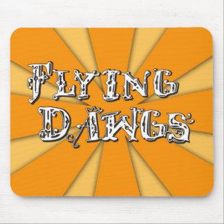 飛行Dawgsの本管のロゴ マウスパッド