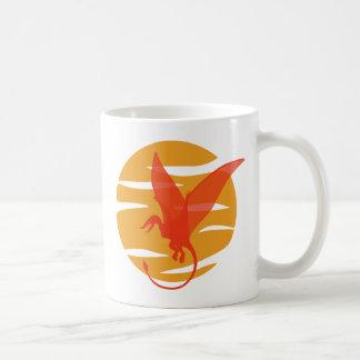 飛行Pterosaur コーヒーマグカップ