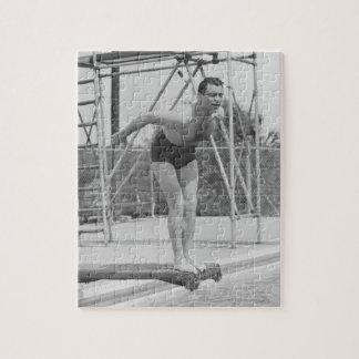 飛込台の人 ジグソーパズル