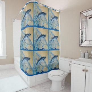 飛魚座 シャワーカーテン