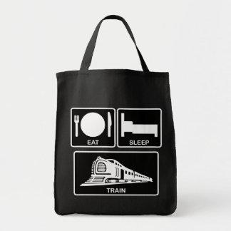 食べて下さい、眠らせて下さい、訓練して下さい トートバッグ
