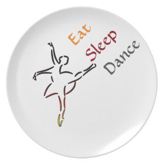 食べて下さい、眠らせて下さい、踊って下さい プレート