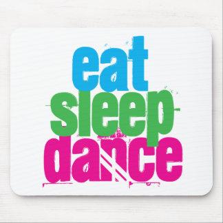 食べて下さい、眠らせて下さい、踊って下さい マウスパッド