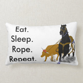 食べて下さい。 睡眠。 ロープ ランバークッション