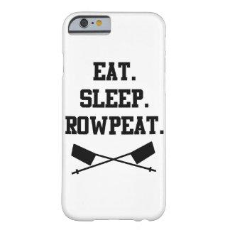 食べて下さい。 睡眠。 RowpeatのiPhone6ケース Barely There iPhone 6 ケース