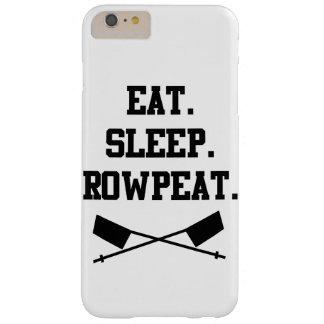 食べて下さい。 睡眠。 RowpeatのiPhone 6のプラスの場合 Barely There iPhone 6 Plus ケース