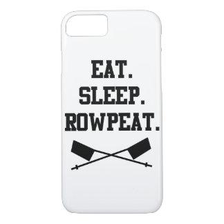 食べて下さい。 睡眠。 RowpeatのiPhone 7の場合 iPhone 8/7ケース