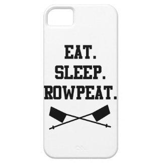 食べて下さい。 睡眠。 Rowpeat iPhone SE/5/5s ケース