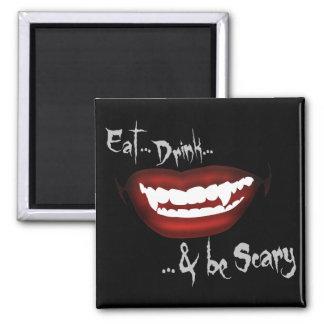 食べて下さい… 飲んで下さい… 及び恐いがあって下さい マグネット