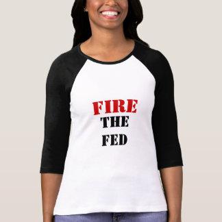 食べ物を与えられる始動させて下さい Tシャツ