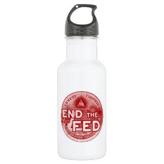 食べ物を与えられる終えて下さい-または今またはbankstersまたは匿名占めて下さい ウォーターボトル