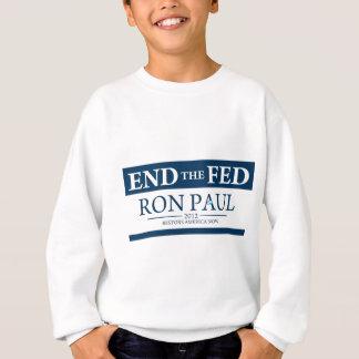 食べ物を与えられる終えて下さい スウェットシャツ