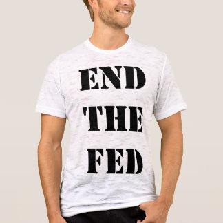 食べ物を与えられる終えて下さい Tシャツ