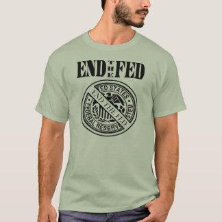 食べ物を与えられる-連邦準備制度のTシャツ終えて下さい Tシャツ
