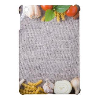 食事のための原料の平面図 iPad MINIケース