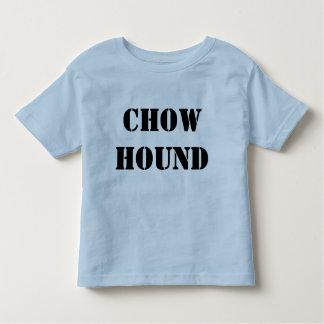 食事の猟犬の幼児t トドラーTシャツ