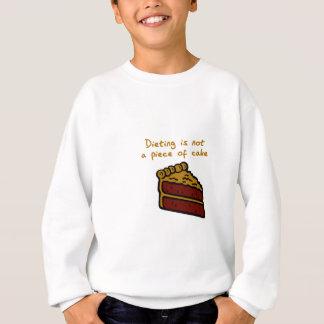 食事療法 スウェットシャツ