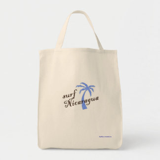 食料雑貨の戦闘状況表示板-波ニカラグア トートバッグ