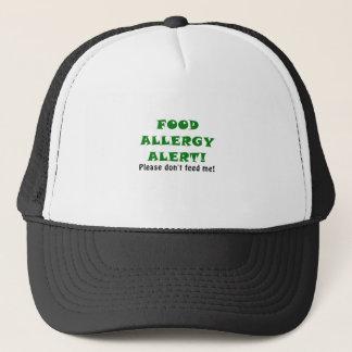 食物アレルギー警報は私を食べ物を与えません キャップ
