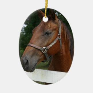 食用の栗の馬のオーナメント セラミックオーナメント
