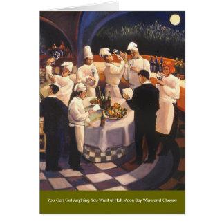 食糧およびワインシリーズ カード