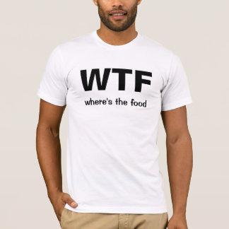 (食糧があるかところ) WTF Tシャツ