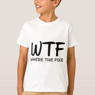 食糧があるところWTF Tシャツ