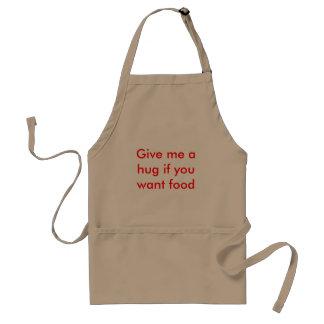 食糧がほしいと思ったら私を抱きしめて下さい スタンダードエプロン