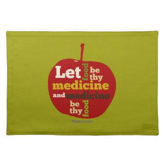 食糧がthy薬APPLEがあるようにして下さい ランチョンマット