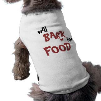 食糧のために吠えます ペット服