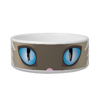 食糧または水のためのシャム猫のペットボウル ボウル
