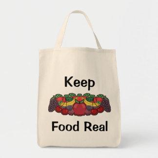 食糧を実質保存して下さい トートバッグ