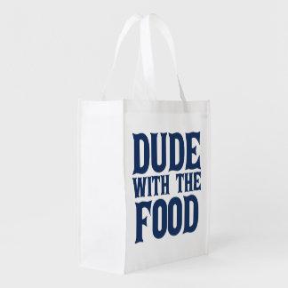 食糧を持つ男 エコバッグ