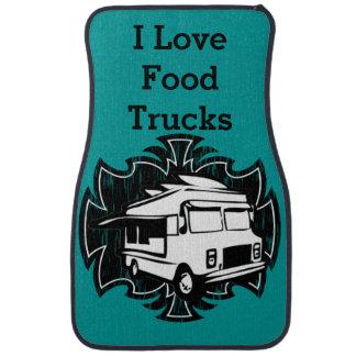 食糧トラックのフロアマット カーマット